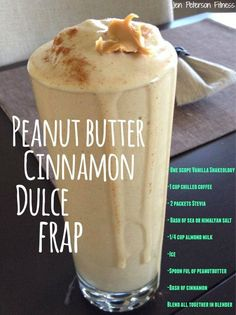 This is a MUST to try!!! Cut out those Starbuck's Frap calories and replace it with this O' So YUMMY GOODNESS!!