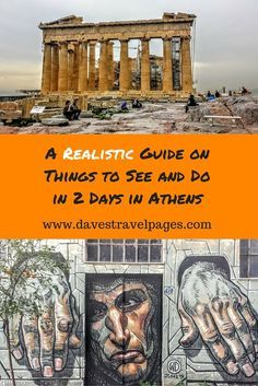 A realistic guide on things to see and do in 2 days in Athens. This itinerary  takes in all the main sites, at a relaxed pace. Visiting Athens with children? This 2 days in Athens itinerary is kid friendly too!: