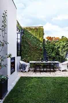 9 Smashing Clever Tips: Backyard Garden On A Budget Fence backyard garden pergola plants.Backyard Garden On A Budget Fence. Outdoor Rooms, Outdoor Dining, Outdoor Gardens, Outdoor Decor, Dining Area, Outdoor Fire, Landscape Design, Garden Design, Melbourne House