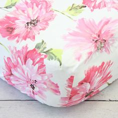 Pink Petunia Crib Sheet