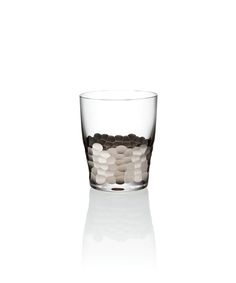 Kim Seybert Paillette Platinum Double Old Fashioned - Set of Four