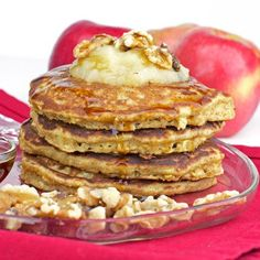 My all time favorite oatmeal pancakes recipe - Try it!
