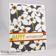Stampin' Up! Mother's Day Card using Sheer Perfection Designer Vellum Stack from sale-a-bration