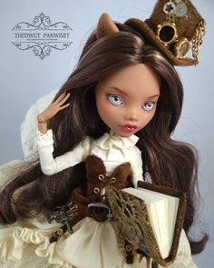 Monster High Clothes, Monster High Dolls, Unique Toys, Doll Repaint, Emma Roberts, Ooak Dolls, Doll Clothes, Punk, Princess Zelda