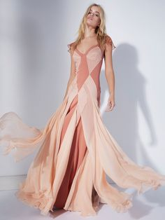 FP Limited Edition Terra Cotta Jill C's Limited Edition Maxi Dress at Free People Clothing Boutique Maxi Gowns, White Maxi Dresses, Floral Maxi Dress, Nice Dresses, Lace Dress, Dress Up, Most Beautiful Dresses, Different Dresses, Fashion Outfits