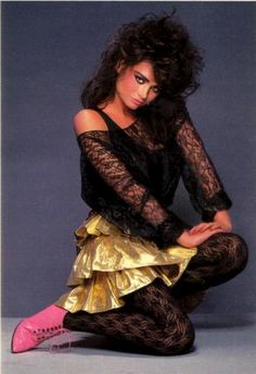 1980s Ah! yes I remember this look,I could be caught out on a Saturday night in this kinda outfit,my eternal flame look.