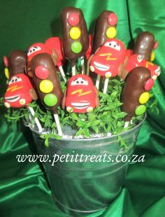 Character Cake Pops - Cars