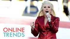Lady Gaga - National Anthem - Super Bowl 2016 (HD 1080p) Full Video www.BillionDollarBaby.biz and https://www.youtube.com/watch?v=tTPJ8ts4k1w