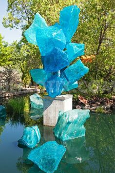 Chihuly glass sculpture exhibit, Denver Botanic Gardens