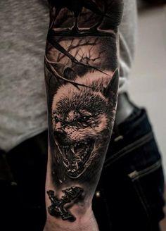 Bad Wolf Tattoo