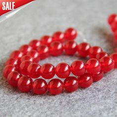 Cheap round stone, Buy Quality chalcedony beads directly from China diy beads Suppliers: Accessory Crafts Parts Necklace Bracelet 10mm Red Chalcedony Beads Round Stone Loose DIY Beads 15inch Jewelry Making Fitting