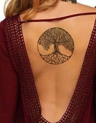 """Résultat de recherche d'images pour """"tatouage soleil medaillon dos"""""""