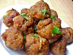 These homemade Italian Meatballs are hard to beat. Make a big batch and have them on hand in the freezer for quick weeknight meals.