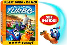 I want to WIN TURBO on Blu-Ray DVD with a Toy Racer! #ADIMHGG2013 Ends 11/12/13 #win #giveaway
