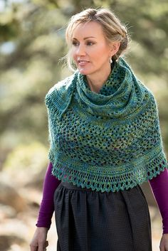 Ravelry: Monsoon Shawl pattern by Angela Tong