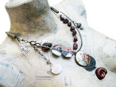 Victorian tribal assemblage necklace.