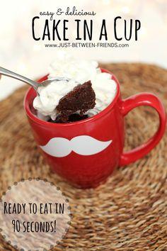 Cake in a Cup, Shirley J Mugging Cake in a Mug Mixes | Just Between Friends | November 16, 2013
