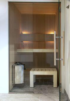 Sauna made by VSB Wellness Basement Sauna, Sauna Room, Mini Sauna, Home Design, Building A Sauna, Sauna Shower, Indoor Sauna, Sauna Design, Finnish Sauna