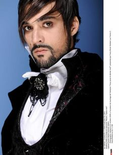 Florent Mothe, from Mozart Rock Opera. Cause he's amazing