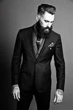Ricki Hall Tattoos & Suit | SOLETOPIA