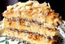 Mulți spun că e cel mai bun tort din lume! No Cook Desserts, Sweets Recipes, Baking Recipes, Cake Recipes, Romanian Desserts, Romanian Food, Romanian Recipes, Specialty Cakes, Eat Dessert First