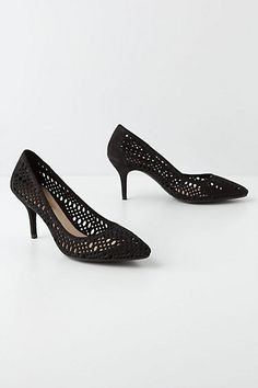 Lasercut Basketry Pumps - Anthropologie.com