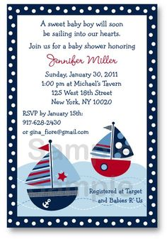 Ships Ahoy! J is having a boy!