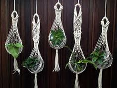 Image result for how to macrame plant hangers