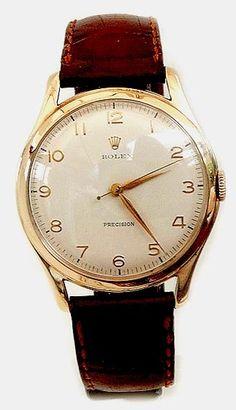 ROLEX 9CT GOLD DRESS WATCH 1959-VINTAGE