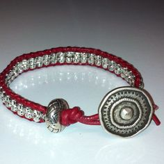 Love this red bracelet!