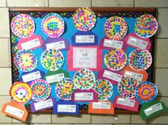 """100th day of school gumball machines """"We had a 'ball' on the 100th day of school!"""""""