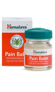 Naturally enriched with the goodness of Indian Winter Green, Mint and Chir Pine oils, Himalaya's Pain Balm is a quick-acting headache and body ache reliever that remedies pain naturally.