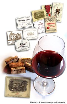 Le Top 20 des vins à vendre : les plus recherchés et spéculatifs ! © www.wanted-vin.com