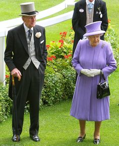 Prince Philip and Queen Elizabeth (Ascot Day 4)