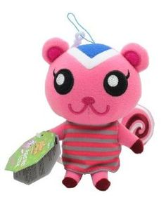 "Amazon.com: Tomy Animal Crossing Wild World Plush - 5.5"" Peanut (Not Talking): Toys & Games"