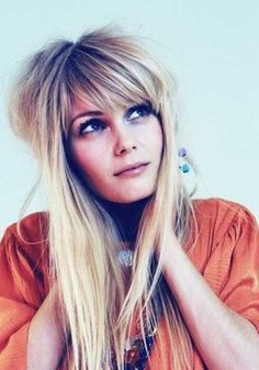 Hair Ideas, Hair Styles, Hairstyles 2017-2018, Trends Hairstyles, Hairstyles With Fringes, Funky Long Hairstyles, Funky Hairstyles, Bold Colors, Long Blonde