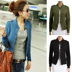 Women's Military Jacket