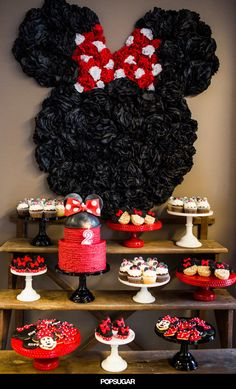 So many fun details at this Minnie Mouse party!
