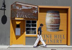 The Vine Hill Winery tasting room on Ingalls Street in Santa Cruz. Wine tasting in the Santa Cruz area can be found away from the actual vineyards at such places as Bonny Doon, Storrs Winery, Vine Hill and MJA Vineyards. Photo: Brant Ward, The Chronicle