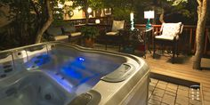Hot tubs are the best for relaxing in peace. - What does a hot tub cost?