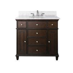 White Bathroom Vanity 36 Inch | Kids Bathroom | Pinterest | White Bathroom  Vanities, Bathroom Vanities And Vanities