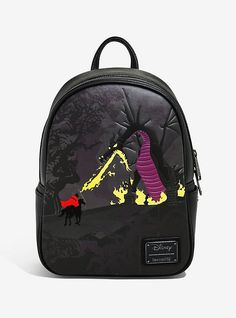 Loungefly Disney Sleeping Beauty Maleficent Dragon Mini Backpack - BoxLunch Exclusive - D - Maleficent Dragon, Disney Maleficent, Disney Villian, Disney Mickey, Sleeping Beauty Maleficent, Disney Sleeping Beauty, Dragon Backpack, Cute Mini Backpacks, Disney Purse