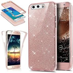 Galaxy Case,ikasus [Full-Body 360 Coverage Protective] Crystal Clear Sparkly Shiny Glitter Bling Front Back Full Coverage Soft Clear TPU Silicone Rubber Case for Samsung Galaxy Gold Cheap Craft Supplies, Wholesale Craft Supplies, Craft Supplies Online, Handyhülle Samsung Galaxy S7, Galaxy S8, Sony Xperia, Stylus, S7 Edge Rose Gold, Bump