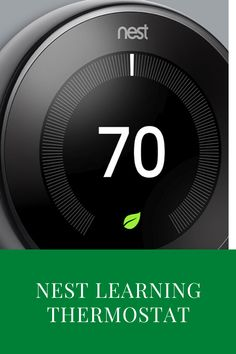 The Nest Learning Thermostat Generation is an elegant, adaptive and smart thermostat which has virtually no major shortcomings. Heating And Cooling Units, Learning Ability, Interesting Conversation, Nest Thermostat, New Technology, Save Energy, Gadgets, Product Launch, Gadget