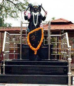 Idol of Lord Shani Dev Ji installed in the premises of Bawe Wali Mata Mandir.