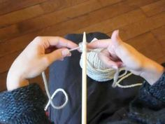 Knitting Class: The Basics - The Thousand Mail Chest Addi Express, Big Wool, Learn To Sew, Loom Knitting, Baby Hats, Diy Clothes, Fingerless Gloves, Arm Warmers, Stitch