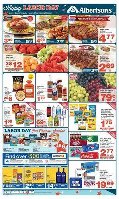 Albertsons Weekly Ad August 30 - September 5 U.S. #grocery savings #Albertsons circular