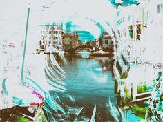 'One woman at Chioggia' von Gabi Hampe bei artflakes.com als Poster oder Kunstdruck $20.79