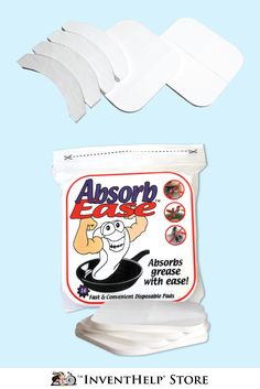 Clean up your cooking mess this holiday season with AbsorbEase™! Shop now at inventhelpstore.com.