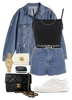 featuring Topshop, Vans, Chanel, Rolex and Gucci Cute Comfy Outfits, Classy Outfits, Stylish Outfits, Beautiful Outfits, Polyvore Outfits, Mode Ulzzang, Mode Grunge, Kpop Fashion Outfits, Ladies Fashion